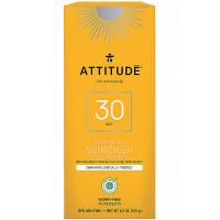 ATTITUDE 100% minerálny opaľovací krém SPF 30 s vôňou Tropical 150 g