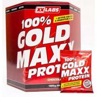 GOLD MAXX 100% proteín jahoda 1800 g