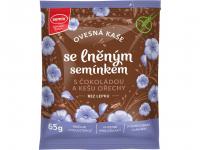 SEMIX Ovsená kaša s čokoládou, kešu orechami a ľanovým semienkom 65 g