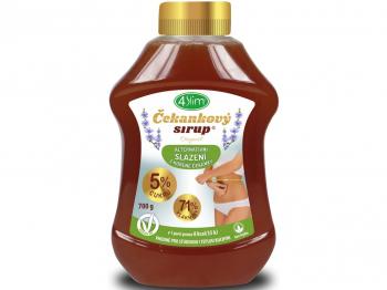 4SLIM Čakankový sirup originál 700 g
