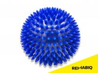 REHABIQ Masážna loptička ježko modrá 10 cm