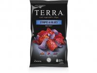 JOYA Zeleninové chipsy Stripes & Blues 110 g