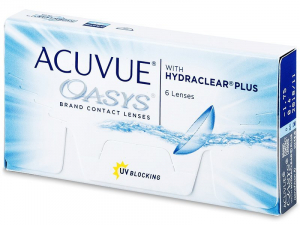 JOHNSON Acuvue Oasys Plus 6 šošoviek