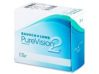 BAUSCH & LOMB PureVision 2 HD 6 šošoviek, Počet dioptrií: -10, Počet ks: 6 ks, Priemer: 14,0, Zakrivenie: 8,6