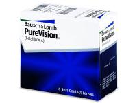 BAUSCH & LOMB PureVision 6 šošoviek, Počet dioptrií: -2,5, Počet ks: 6 ks, Priemer: 14,0, Zakrivenie: 8,6