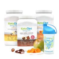 KETODIET 3 týždenné proteínové nápoje Medium 1. krok 105 porcií