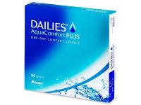 ALCON Dailies AquaComfort Plus jednodňové šošovky 90 kusov, Počet dioptrií: -10,0, Priemer: 14,0, Zakrivenie: 8,7, Počet ks: 90 ks