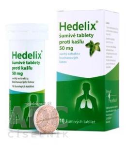 Hedelix šumivé tablety proti kašľu 10 tabliet