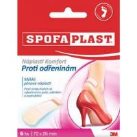 3M™ SPOFAPLAST 186 Náplaste komfort proti odreninám 6 ks