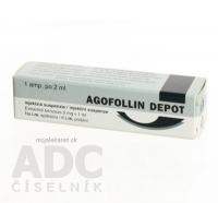 AGOFOLLIN DEPOT sus inj  5mg/ml (amp. skl.) 10 mg 1x2 ml