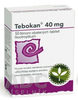 TEBOKAN 40 mg tbl flm (blis.) 1x50 ks