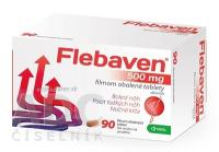 FLEBAVEN 500 mg filmom obalené tablety 1 x 90 ks