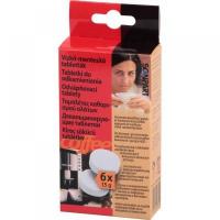 6 tabletiek pre odstraňovanie vodného kameňa do výrobníkov kávy atď.