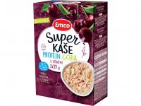 EMCO Super kaše Protein & chia s višňami 3x55 g
