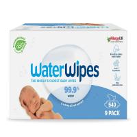 WATERWIPES 100% BIO Odbúrateľné obrúsky 9 x 60 ks