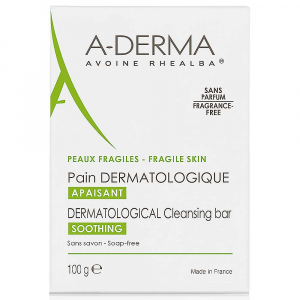 A-DERMA Soins Originels Dermatologická umývacia kocka 100 g