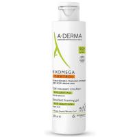 A-DERMA Exomega Control Zvláčňujúci penivý gél 200 ml