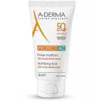 A-DERMA Protect AC Zmatňujúci fluid SPF 50+ 40 ml