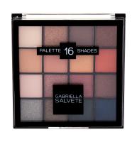 GABRIELLA SALVETE Palette 16 Shades očný tieň 20,8 g 01 Gold