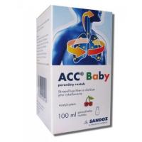 ACC 20 mg/ml Perorálny roztok pre deti a dospelých sol por (fľ.skl.hnedá + striekačka) 1 x 100 ml