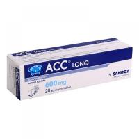 ACC Long Instant  600 mg perorálny prášok vo vrecku 10 kusov