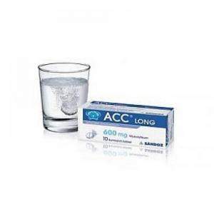 ACC LONG 10 x 600 mg šumivých tabliet