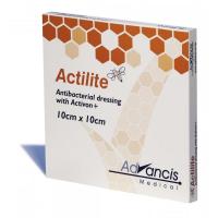 ACTILITE krytie na rany antimikrobiálne 10x10 cm 10 kusov.