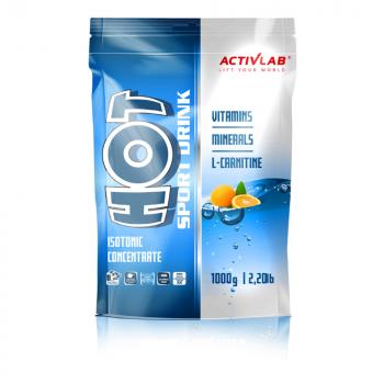 ACTIVLAB Hot sport drink iontový nápoj príchuť pomaranč 1000 g