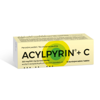 ACYLPYRIN + C šumivé tablety 12 kusov