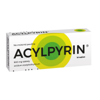 ACYLPYRIN 500 mg 10 tabliet