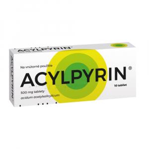 ACYLPYRIN 500 mg 10 tabliet