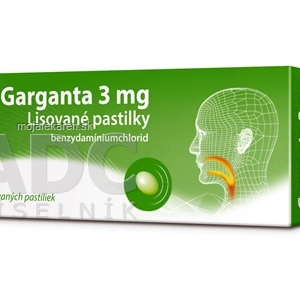 BOIRON Garganta 3 mg pas ocp 20 pastiliek