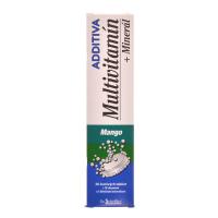 NATURPRODUKT Additiva multivitamín + minerál mango 20 šumivých tabliet