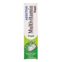 NATURPRODUKT Additiva multivitamín + tropic 20 šumivých tabliet