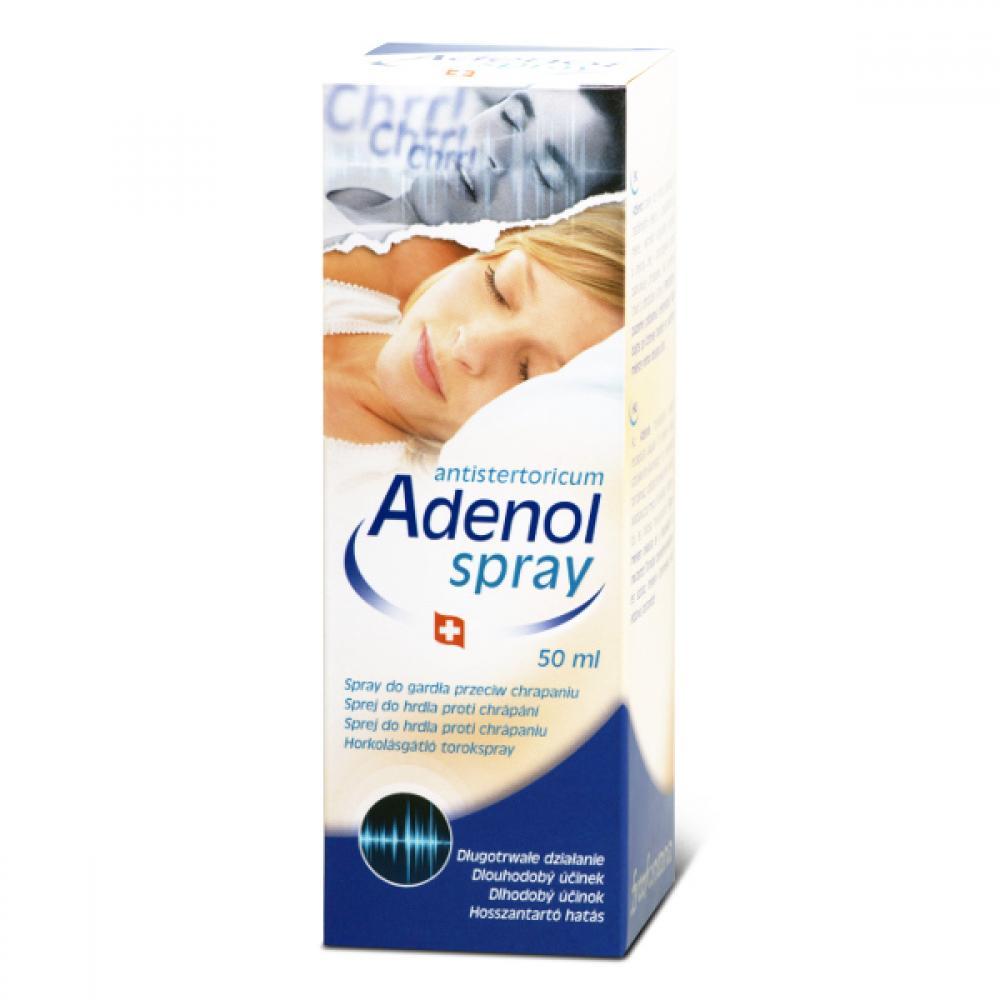 Adenol spray do hrdla proti chrápaniu 50 ml