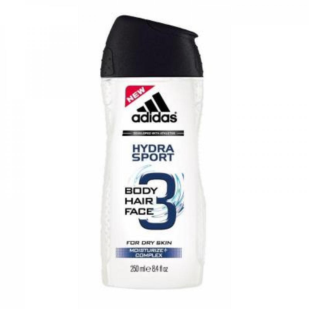 Adidas A3 Men Hair & Body Hydra Sport gél 250 ml