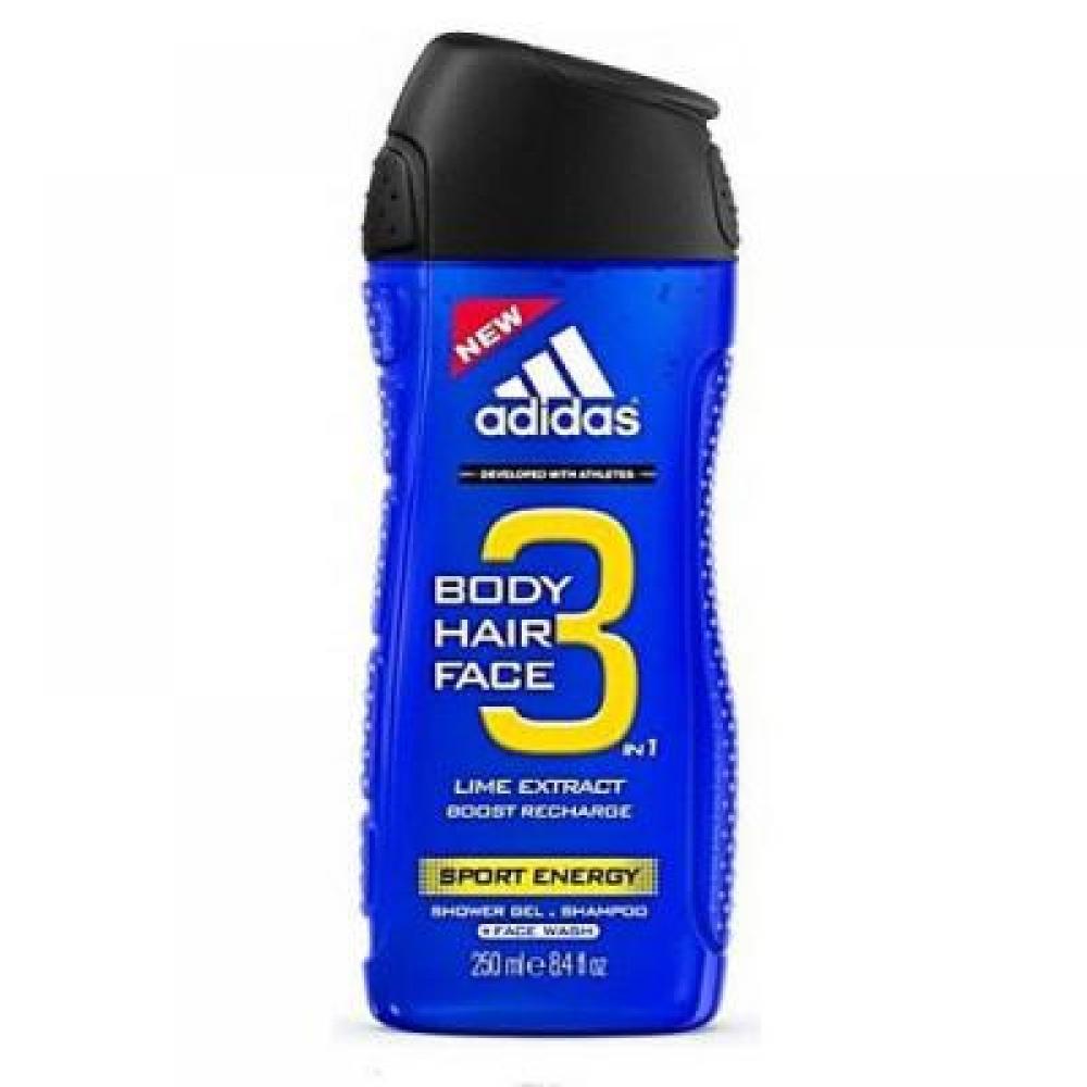 Adidas 3in1 Sport Energy 250ml