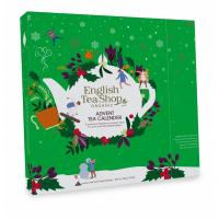 ENGLISH TEA Čajový Adventný kalendár zelený pyramídky 25 kusov