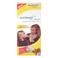 AeroChamber Plus s maskou pre deti 1 - 5 rokov