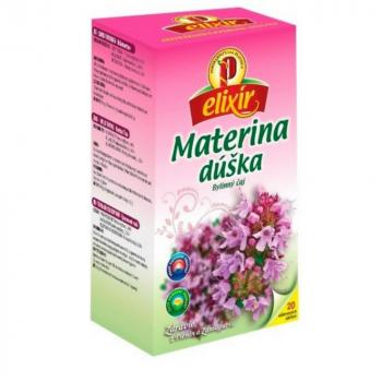 AGROKARPATY ELIXÍR Materina dúška čaj 20 sáčkov