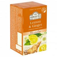 AHMAD TEA Citrón a zázvor 20x 2 g