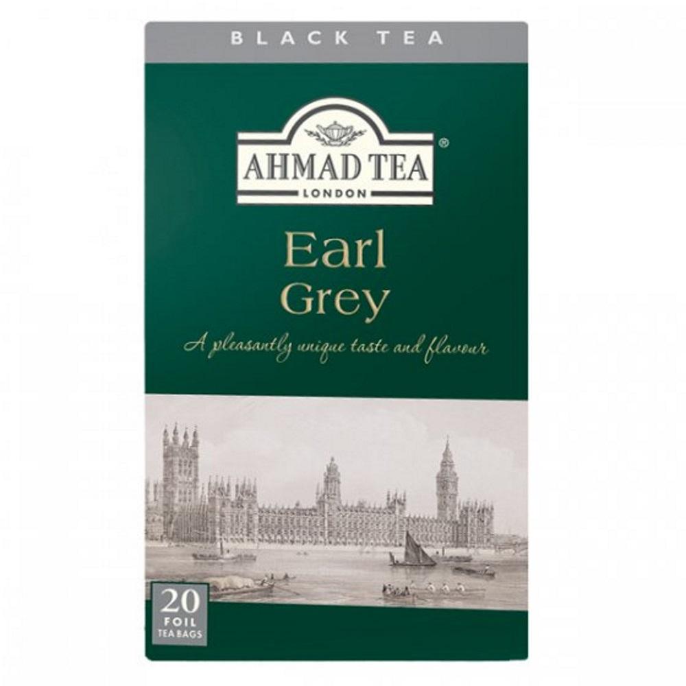AHMAD TEA Earl Grey Tea 20x2 g