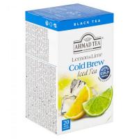 AHMAD TEA Ľadový čaj Lemon and lime 20x2 g