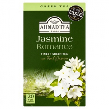 AHMAD TEA Zelený čaj Jasmine 20x2g