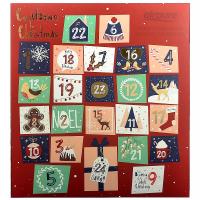 AIRPURE Adventný kalendár so sviečkami Odpočítavanie