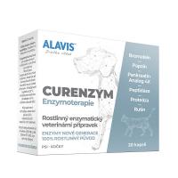 ALAVIS Enzymoterapia-Curenzym pre psov a mačky 20 kapslí