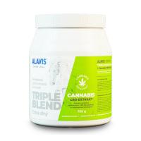 ALAVIS TRIPLE BLEND Extra silný s extraktom Cannabis CBD 700 g