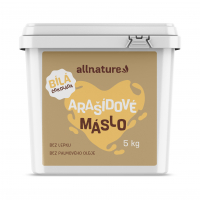 ALLNATURE Arašidové maslo s bielou čokoládou 5 kg