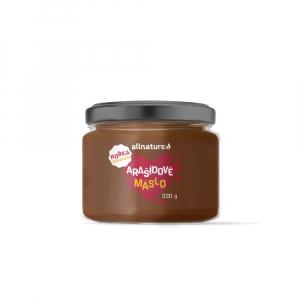 ALLNATURE Arašidové maslo s horkou čokoládou 220 g