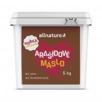 ALLNATURE Arašidové maslo s horkou čokoládou 5 kg